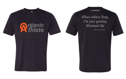 Organic Athlete DryFit Tee - Black 2.0