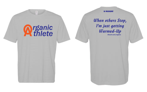 Organic Athlete DryFit Tee - Grey 2.0