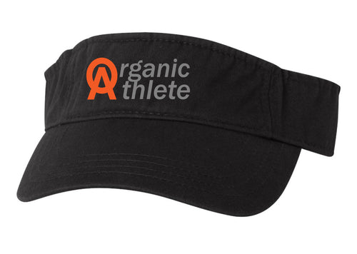 Organic Athlete Visor - Black