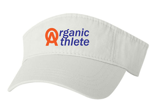 Organic Athlete Visor - White