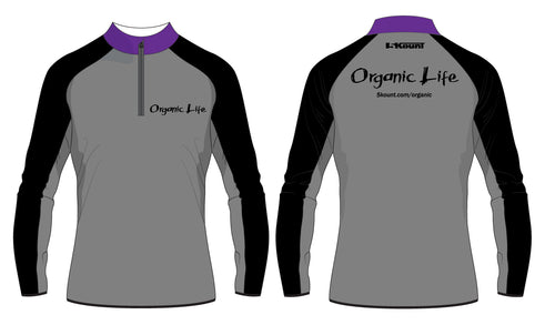Organic Life Sublimated Quarter Zip