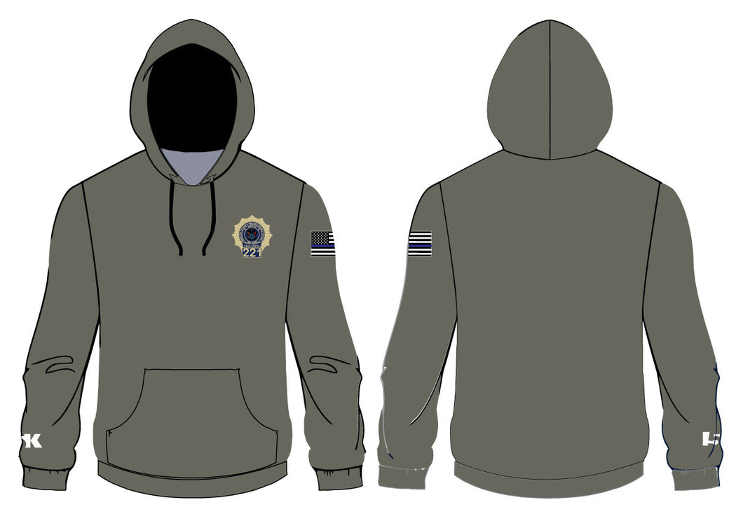 PBA 221 Sublimated Hoodie-Military