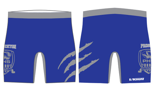 Princeton HS Wrestling Sublimated Compression Shorts