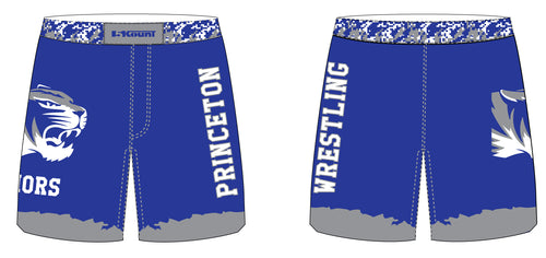 Princeton HS Wrestling Sublimated Fight Shorts