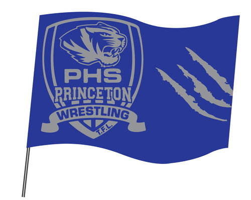 Princeton HS Wrestling Sublimated Flag