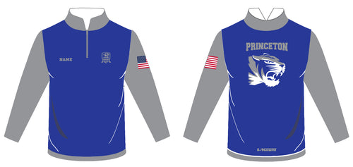 Princeton HS Wrestling Sublimated Quarter Zip