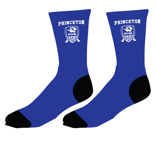 Princeton HS Wrestling Sublimated Socks