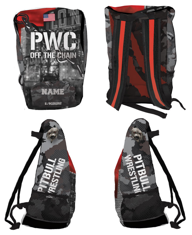 PWC Sublimated Backpack - 5KounT