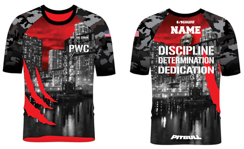 PWC Sublimated Fight Shirt - 5KounT2018