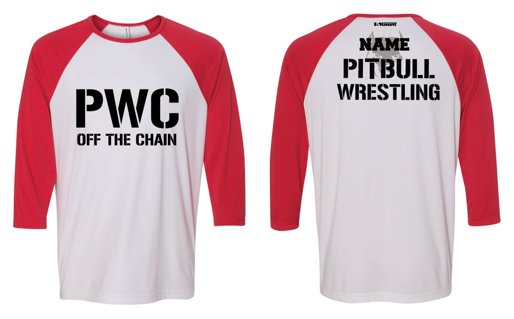 PWC Baseball Shirt - Red/White