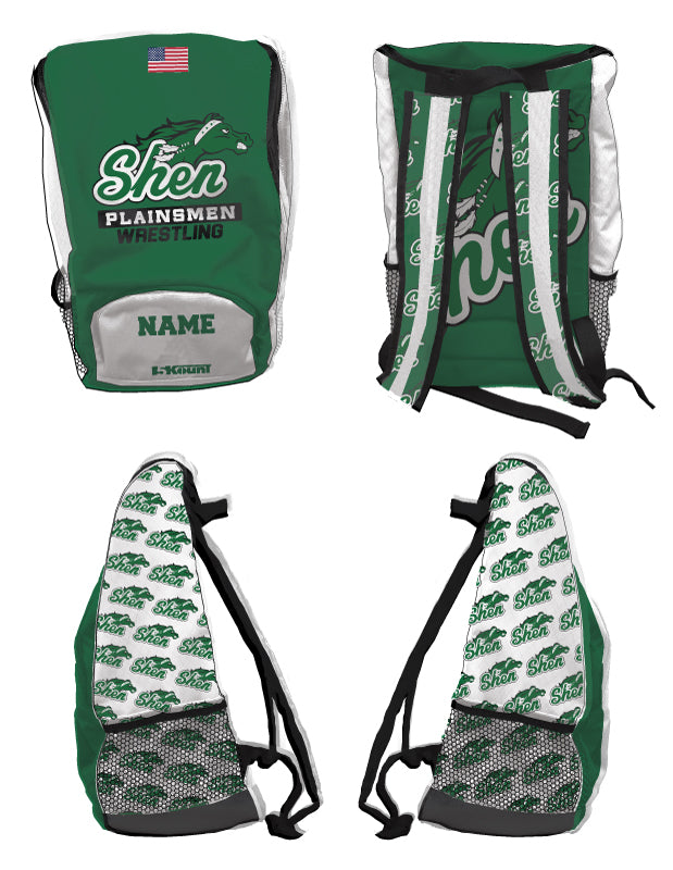 Plainsmen Wrestling Sublimated Backpack