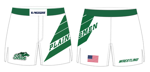 Plainsmen Wrestling Sublimated Board Shorts
