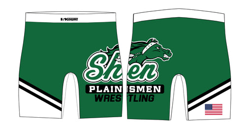 Plainsmen Wrestling Sublimated Compression Shorts