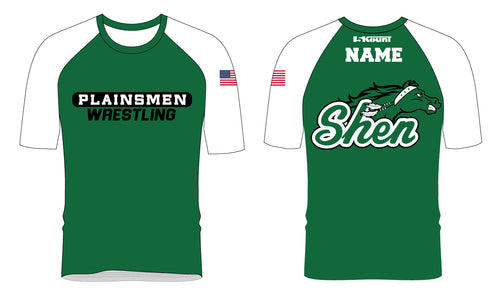 Plainsmen Wrestling Sublimated Fight Shirt