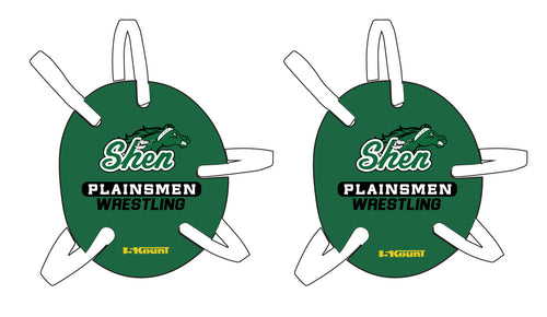 Plainsmen Wrestling Headgear Decal