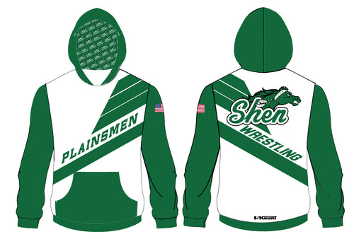 Plainsmen Wrestling Sublimated Hoodie
