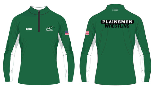 Plainsmen Wrestling Sublimated Quarter Zip