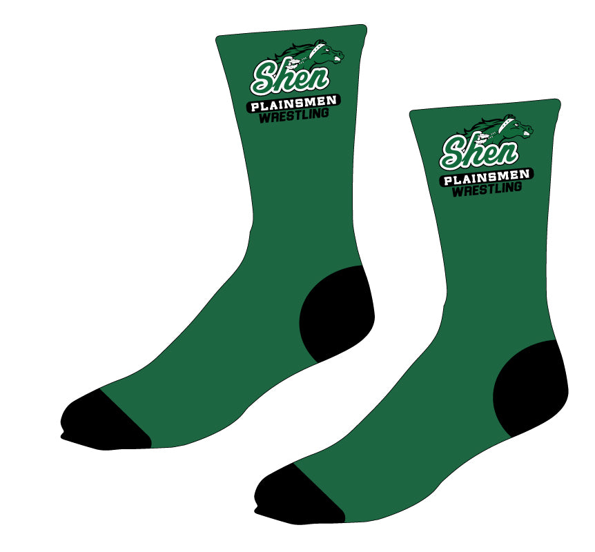 Plainsmen Wrestling Sublimated Socks