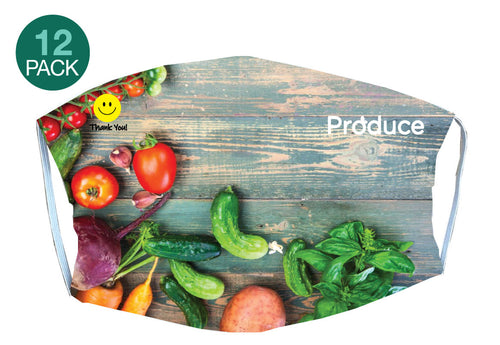 Produce Mask - 12 pack - 5KounT2018