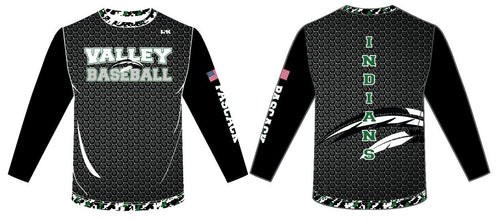 PV Baseball Sublimated Long Sleeve Shirt