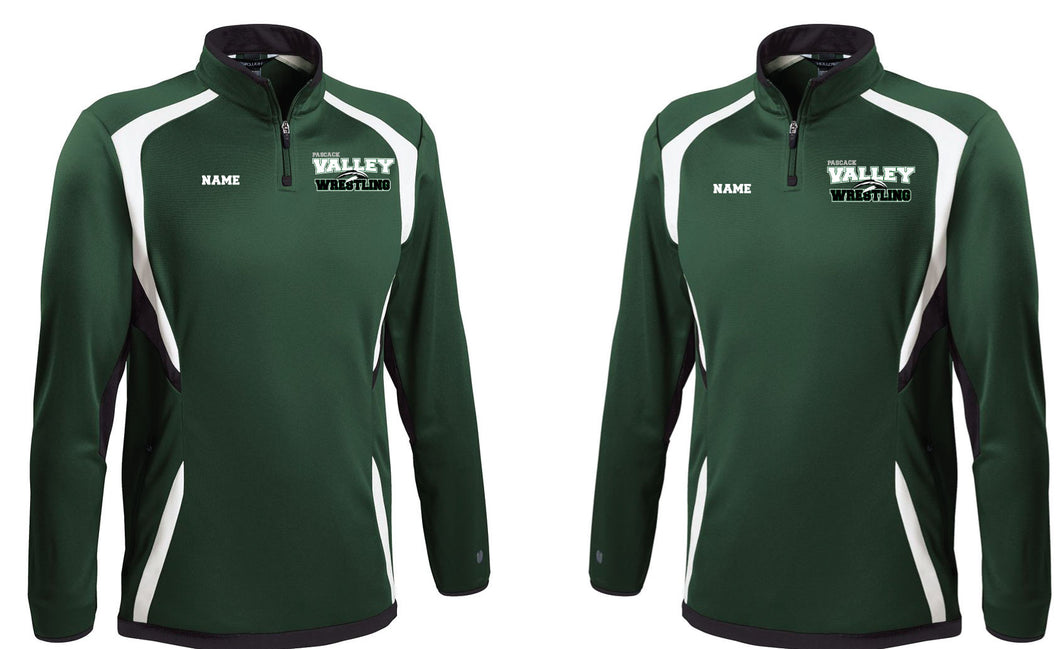 PV Wrestling Quarter Zip Warmup Jacket