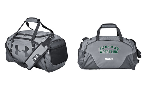Pascack Valley Wrestling Under Armour Duffle / Travel Bag - Gray - 5KounT2018