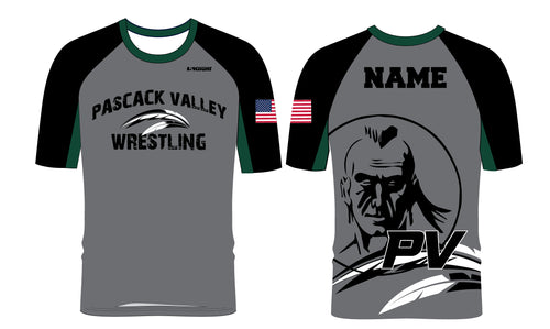 Pascack Valley Wrestling Sublimated Fight Shirt - 5KounT2018