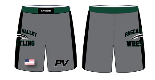 Pascack Valley Wrestling Sublimated Fight Shorts - 5KounT2018