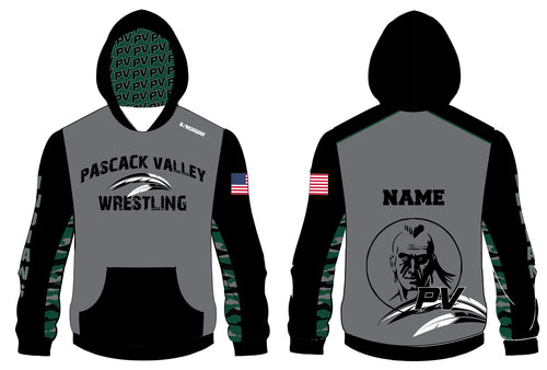Pascack Valley Wrestling Sublimated Hoodie - 5KounT2018