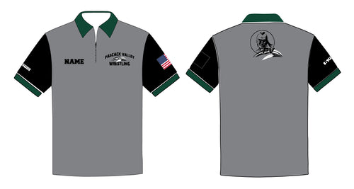 Pascack Valley Wrestling Sublimated Polo - 5KounT2018