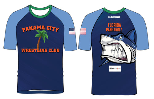 Panama City Wrestling Club Sublimated Fight Shirt - 5KounT2018