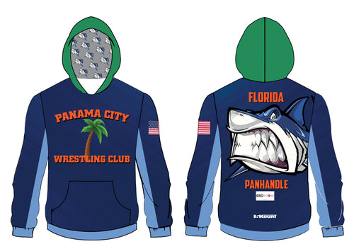 Panama City Wrestling Club Sublimated Hoodie - 5KounT2018