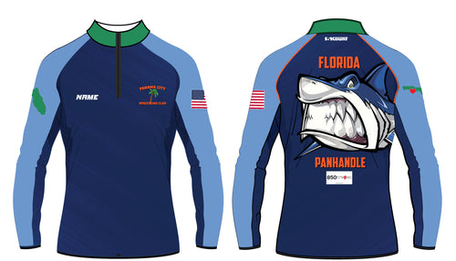 Panama City Wrestling Club Sublimated Quarter Zip - 5KounT2018