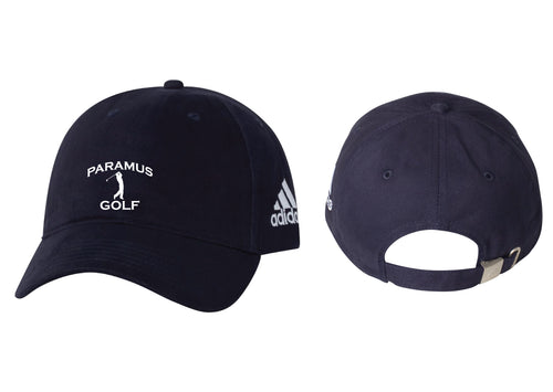 Paramus HS Golf Adjustable Adidas Baseball Cap - Navy