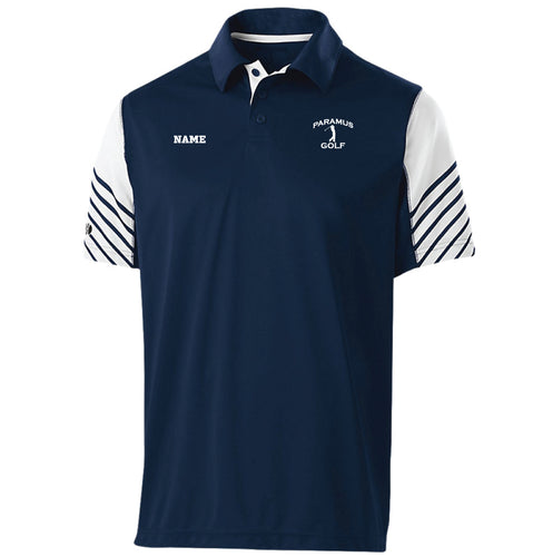 Paramus HS Golf Men's Arc Polo - Navy