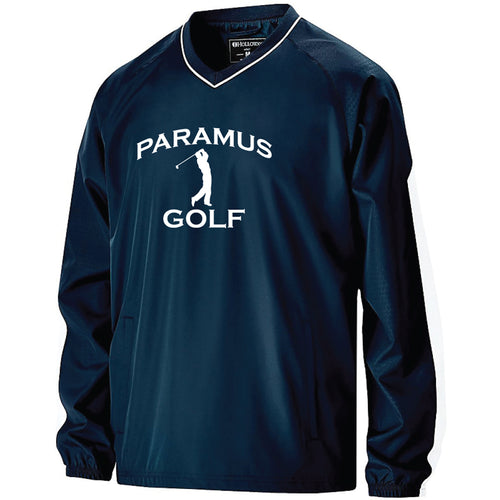 Paramus HS Golf Bionic Windshirt - Navy