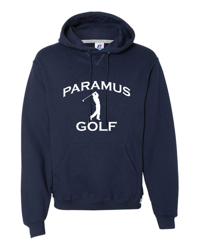 Paramus HS Golf Russell Athletic Cotton Hoodie - Navy