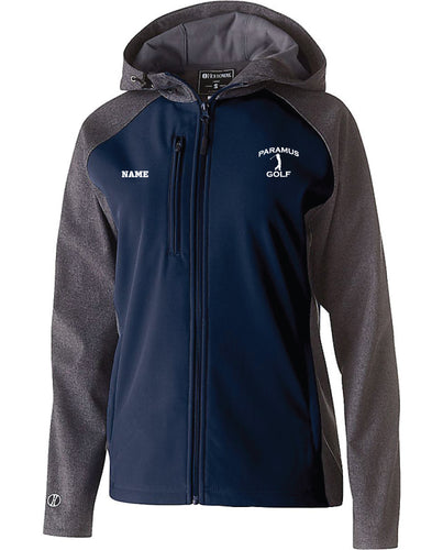 Paramus HS Golf Ladie's Raider Softshell Jacket - Navy