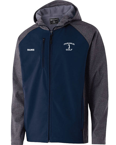 Paramus HS Golf Men's Raider Softshell Jacket - Navy