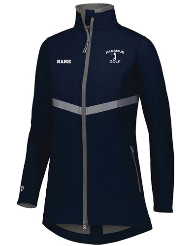 Paramus HS Golf Ladies' 3D Regulate Soft Shell Jacket - Navy