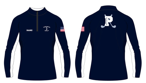 Paramus HS Golf Sublimated Quarter Zip