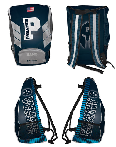 Paramus HS Wrestling Sublimated Backpack - 5KounT2018