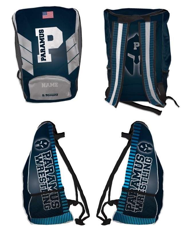 Paramus HS Wrestling Sublimated Backpack