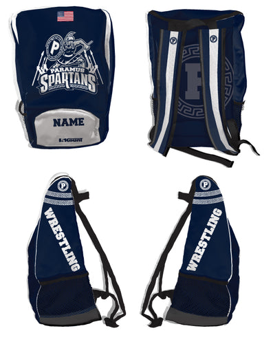 Paramus Wrestling Sublimated Backpack