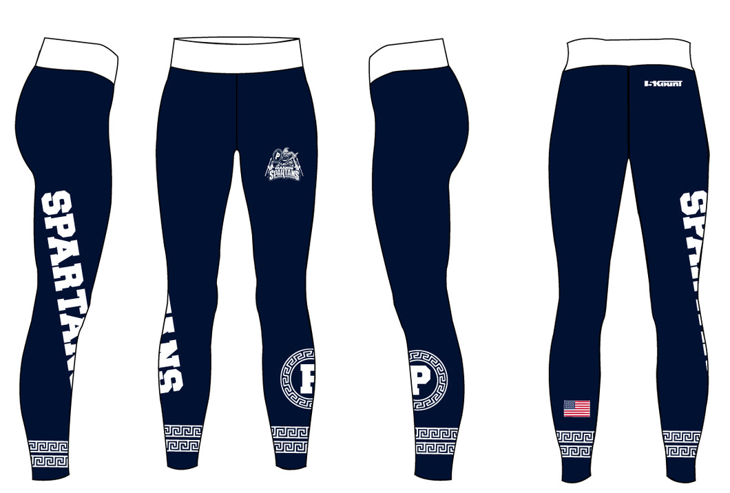 Paramus Wrestling Sublimated Ladies Legging - 5KounT2018