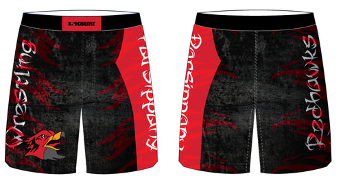 Parsippany Redhawks Sublimated Fight Shorts
