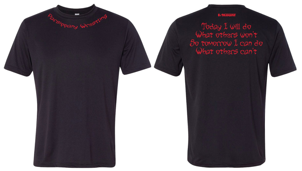 Parsippany Redhawks DryFit Performance Tee (Today I Will...)