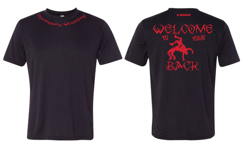 Parsippany Redhawks DryFit Performance Tee (Welcome To Your Back)