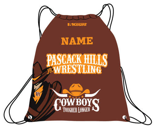 Pascack Hills Cowboys Sublimated Drawstring Bag