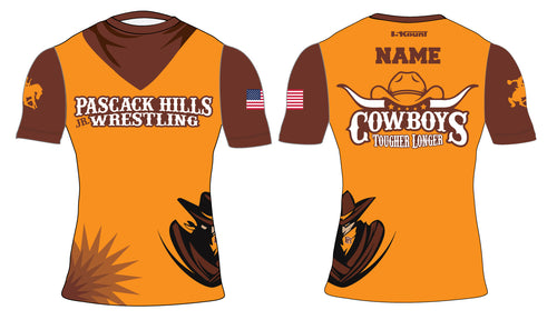 Pascack Hills Cowboys Sublimated Compression Shirt